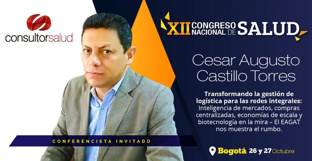 conferencistas xii congreso nacional de salud cesar augusto castillo