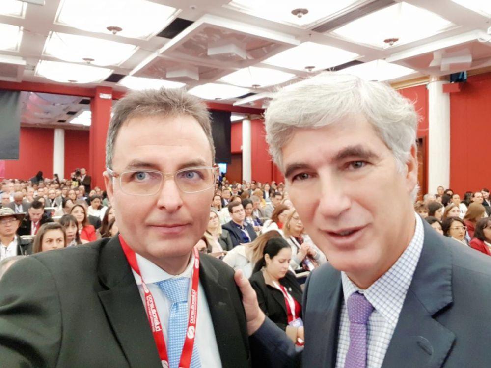 Ministro Juan Pablo Uribe y Carlos Felipe Muñoz Consultorsalud