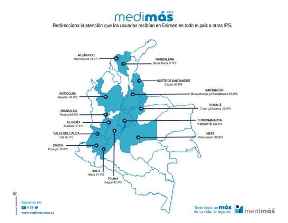 medimas mapa