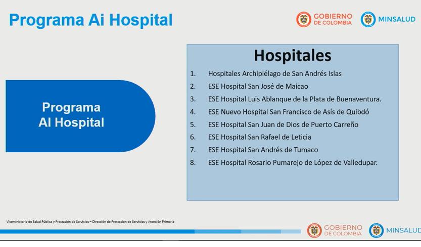 AI hospital
