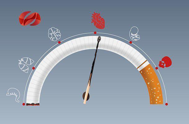 cómo afecta el tabaco al corazón